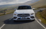 Mercedes-Benz CLA 250 2019 UK first drive review - on the road nose