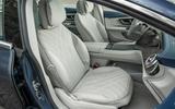 18 Mercedes Benz EQS 2021 UK LHD FD front seats