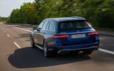 Mercedes-AMG E63 S Estate 2020 first drive review - on the road rear