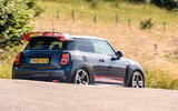 Mini JCW GP 2020 UK first drive review - on the road rear
