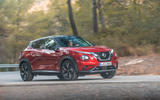 Nissan Juke 2019 first drive review - cornering front