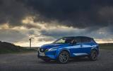 18 Nissan Qashqai 2021 UK FD static front