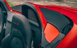 Porsche 718 Boxster GTS 4.0 2020 UK first drive review - air deflector