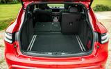 18 Porsche Macan GTS 2021 UK LHD first drive boot