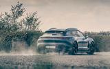 18 Porsche Taycan Cross Turismo 2021 LHD dust