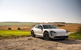 18 Porsche Taycan Cross Turismo 4S 2021 UK FD static front