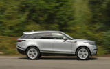 18 range rover velar on the road 0