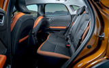 Renault Captur 2019 first drive review - rear seats