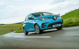 Renault Zoe 2020 UK first drive review - on the road front