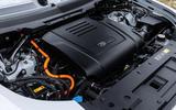 18 Rover Defender PHEV 2021 UK FD engine