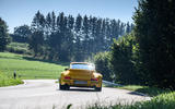 18 RUF CTR 2020 first drive review cornering rear