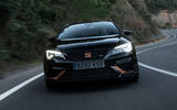 Seat Leon Cupra R ST 2019 first drive review - on the road nose