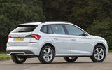 Skoda Kamiq 2019 UK first drive review - static rear