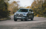 18 Ssangyong Rexton 2021 UK FD on road front