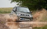 Suzuki Ignis hybrid 2020 UK first drive review - splash front