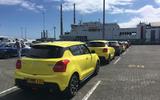 Suzuki Swift Sport 2018 long-term review ferry queue