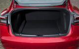 Tesla Model 3 Performance 2019 first drive review - rear boot