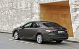 Toyota Camry 2019 European first drive review - static rear