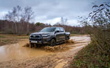 Toyota Hilux Invincible X 2020 UK first drive review - wading front