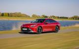 18 Toyota Mirai 2021 UK FD on road front