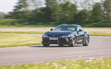 Toyota Supra 2019 UK first drive review - track front
