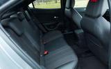 18 Vauxhall Mokka 2021 UK first drive review rear seats
