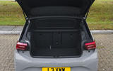 Volkswagen ID 3 2020 UK first drive review - boot
