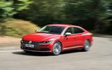 Volkswagen Arteon 2018 long-term review cornering front