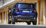 Facelifted Jeep Renegade shown at Turin motor show