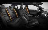 Volvo S60 Polestar Engineered cabin