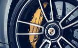 Porsche 911 Turbo S 2020 official images - brake calipers