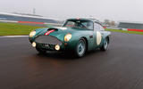 Aston Martin DB4 GT - tracking front