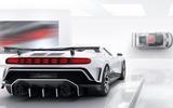 2020 Bugatti Centodieci reveal - rear