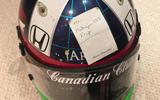 18 Dario Franchitti helmet