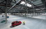 Jaguar Land Rover Nitra factory space