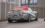 18 mercedes sl grand tourer spy shot