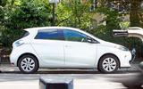 Renault Zoe - stationary side