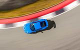 18a Porsche 911 GT3 2021 UK first drive review aerial