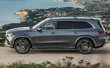 New Mercedes-Benz GLS - side profile