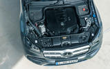 New Mercedes-Benz GLS - engine