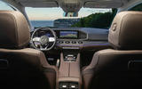 New Mercedes-Benz GLS - dashboard