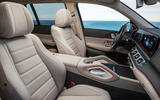 New Mercedes-Benz GLS - front seats