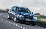 Alpina B5 Touring 2018 UK first drive review - on the road front