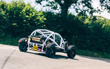 Ariel Nomad R 2020 UK first drive review - cornering rear