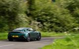 19 Aston Martin F1 edition 2021 UK FD road rear