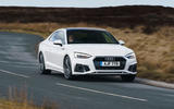 19 audi a5 coupe 2020 uk fd cornering front
