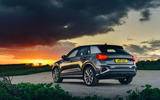 Audi Q2 35 TFSI Sport 2020 UK first drive review - static rear
