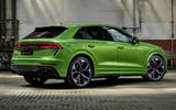 Audi RS Q8 2020 official reveal photos - static static rear
