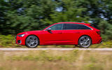 Audi S6 Avant TDI 2019 UK first drive review - on the road side