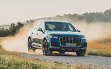 Audi SQ7 2020 first drive review - off-road front